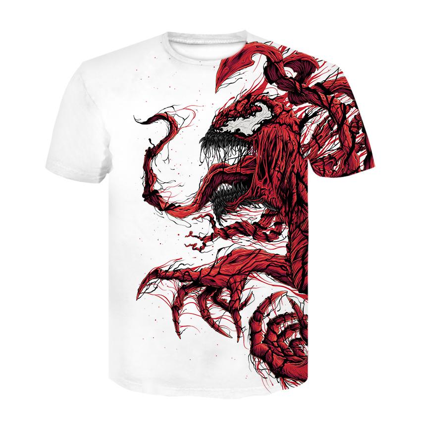 Марвел футболка Веном и Карнаж
