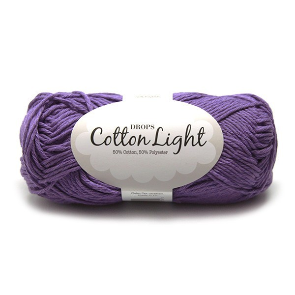 Пряжа Drops Cotton Light 13 фиолетовый