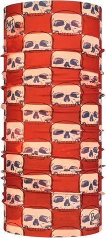 Многофункциональная бандана-труба Buff Original Skull Plaid фото 1