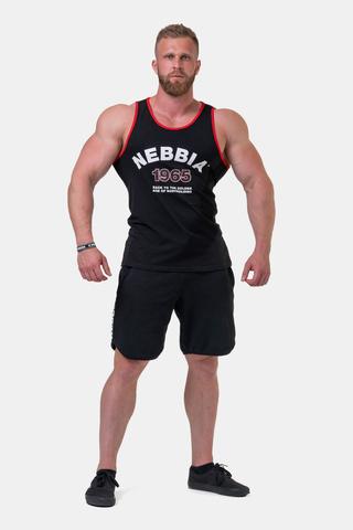 Мужская майка Nebbia Old-school Muscle tank top 193 black