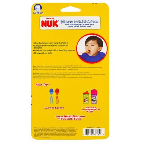 NUK, Ложечки Rest Easy для детского питания Gerber