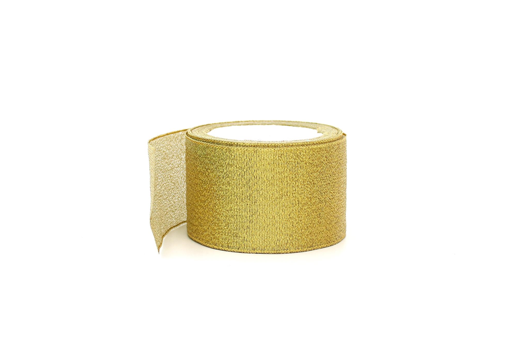 Лента золотая,5,2 см