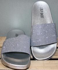 Пляжные сланцы J.B.P. Shoes Nu1213 Silver.
