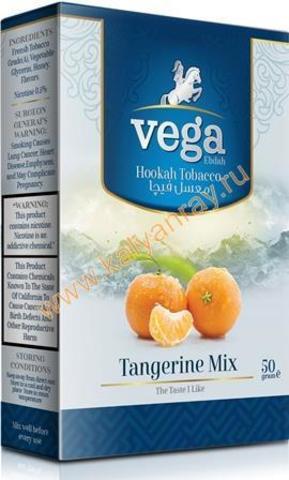 Табак Vega Мандарин в пачке 50 грамм