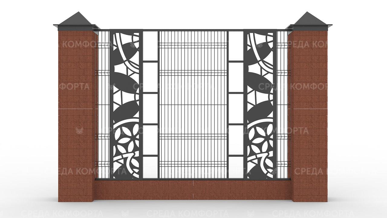 Забор 3Д ZBR0095