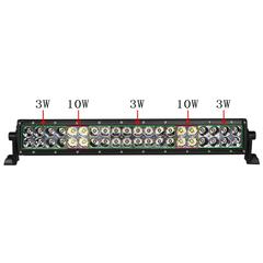 """Фара Aurora 10"""" комбинированного белого света ALO-D1-10-P4BT"""
