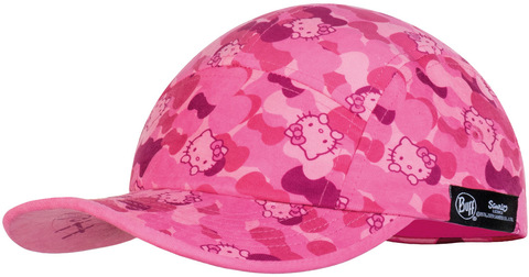 Кепка детская Buff 5 Panels Cap Camo Pink фото 1