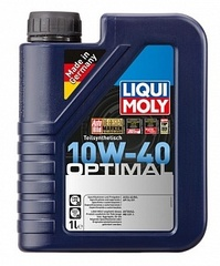 3929 LiquiMoly П/с.мот.масло Optimal 10W-40 SL/CF;A3/B3 (1л)