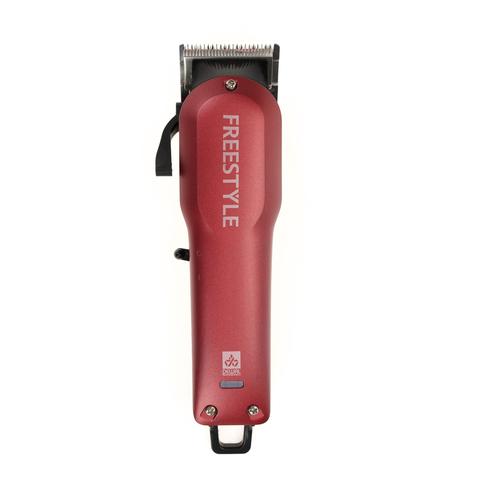 Машинка для стрижки Dewal  (03-077 Red) Freestyle аккум/сетевая 6 насадок красная