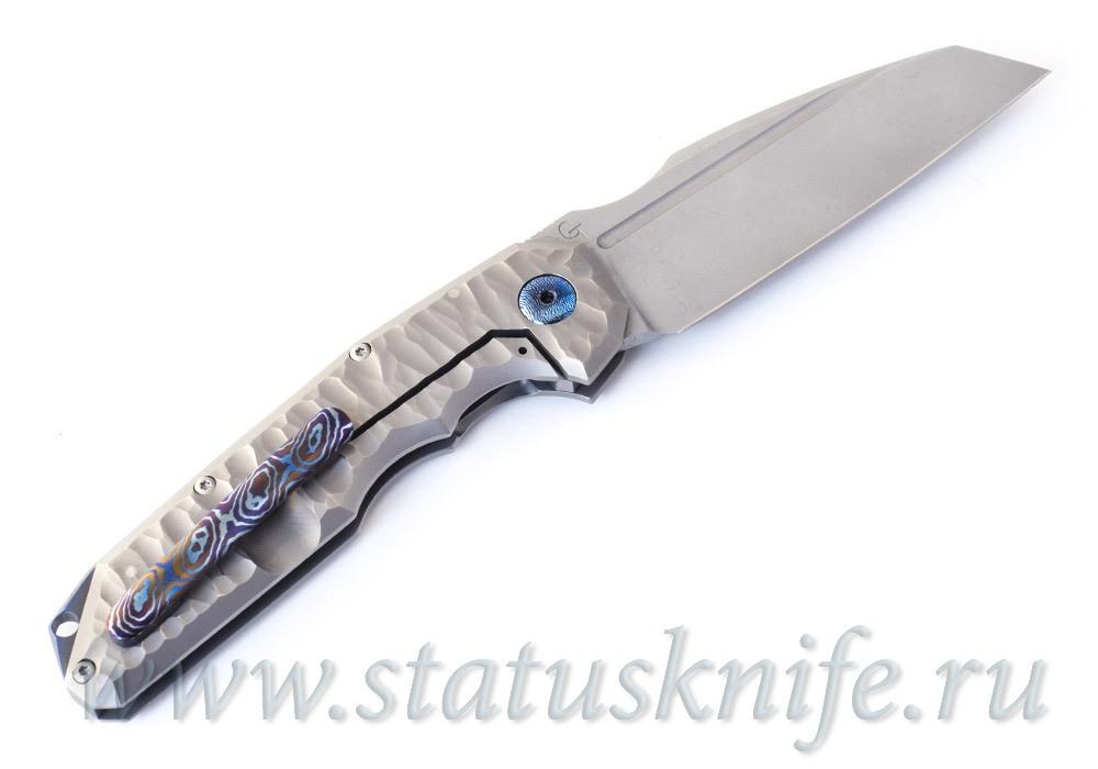 Нож GTK Warmtac Mokuti Accent Full Custom - фотография