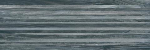 Плитка настенная Zen полоски чёрный 200х600 60034