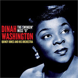 Dinah Washington With Quincy Jones And His Orchestra / The Swingin' Miss 'D' (LP)
