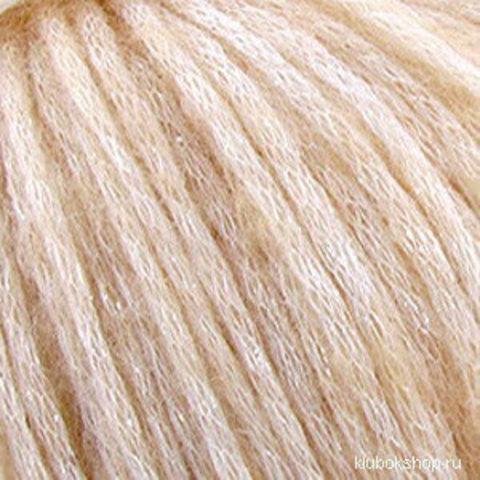 Пряжа Гламурная (Пехорка) 442 Натуральный, фото