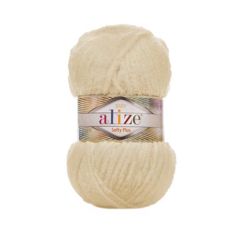 Купить Пряжа Alize Softy Plus Цвет 310 Медовый | Интернет-магазин пряжи «Пряха»