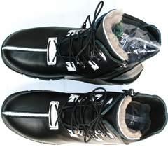 Теплые зимние ботинки женские Ripka 3481 Black-White.