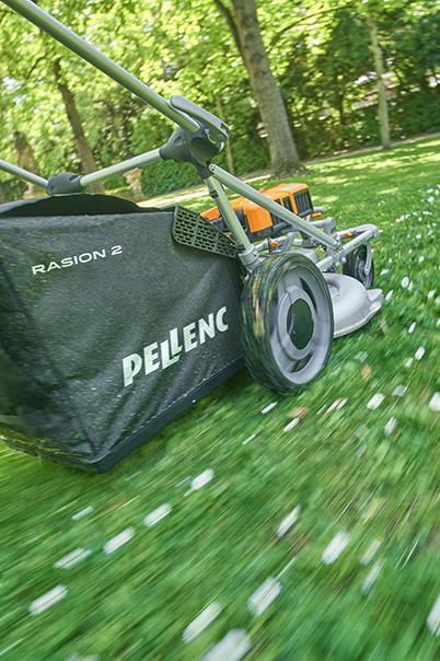 Аккумуляторная газонокосилка PELLENC Raison 2