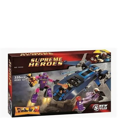 Конструктор Supreme Heroes 10250 Люди Икс против Стража