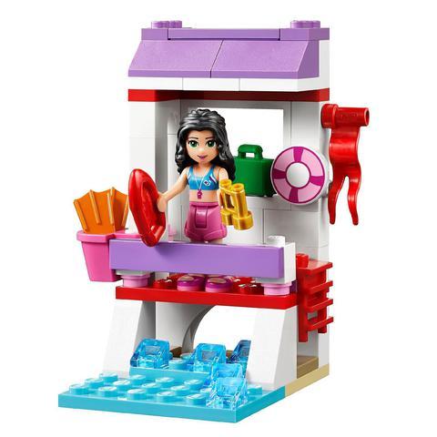 LEGO Friends: Спасательная станция Эммы 41028 — Emma's Lifeguard Post — Лего Френдз Друзья Подружки