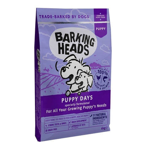 BARKING HEADS PUPPY DAYS - NEW GRAIN FREE RECIPE