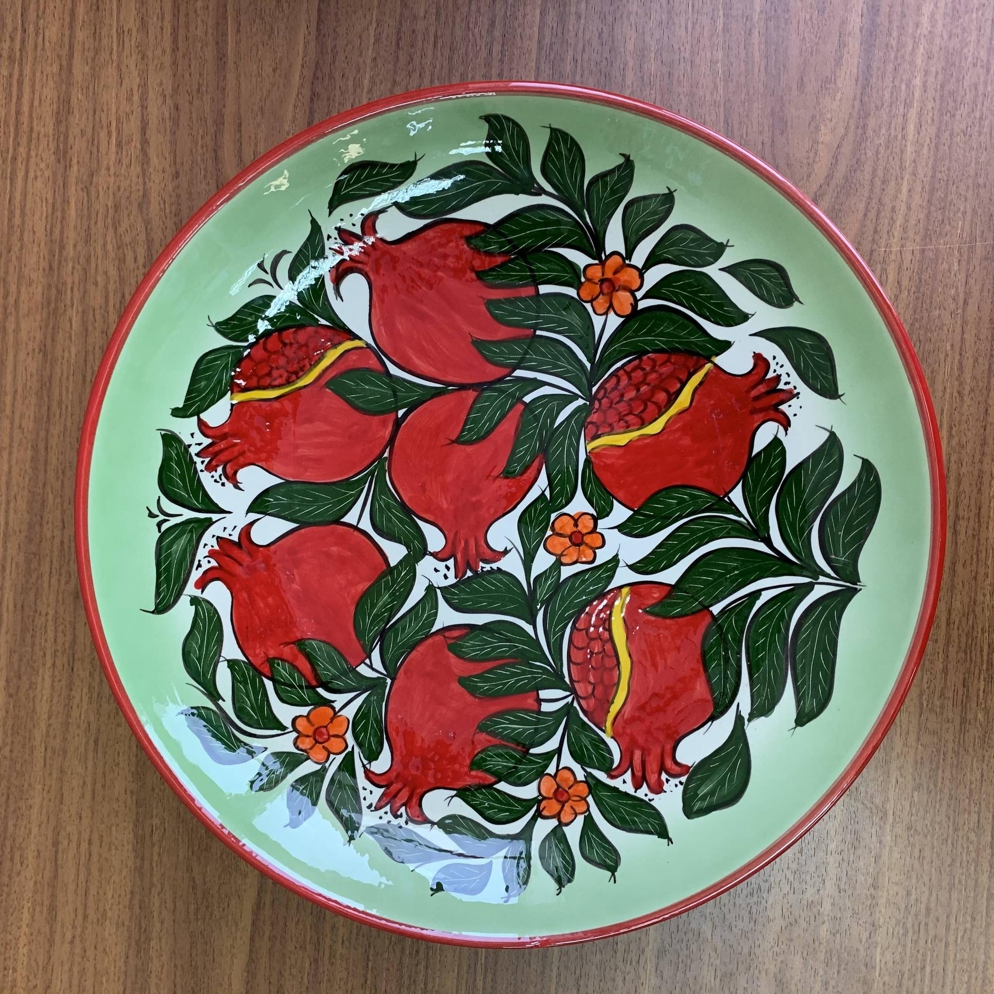 Посуда Ляган ручная роспись гранат 32 см 4Z8ws8Cz4dE.jpg
