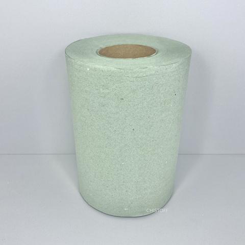 Полотенце бумажное макулатурное Jumbo 1сл. 90 м зеленое (R0331)