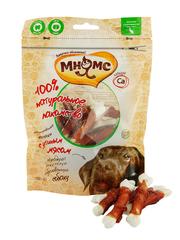 Лакомство для собак Мнямс кальцинированные косточки с утиным мясом