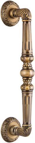 Ручка-скоба PALAZZO Fuaro (Фуаро) PULL SM AB-7 матовая бронза (1 штука)