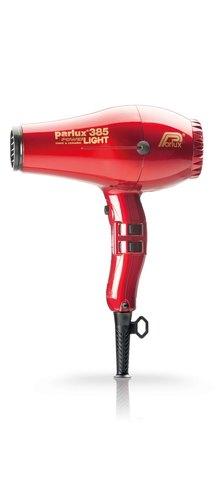 Фен Parlux 385 Power Light, 2150 Вт, ионизация, 2 насадки, красный