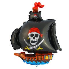 Пиратский корабль. Черный.