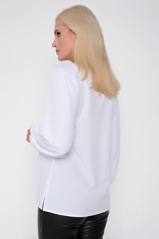 """<p>Хит сезона! Ультра модная модель для уверенной в себе дамы. Рукав длинный """"баллон"""". Ворот - бант.</p>"""