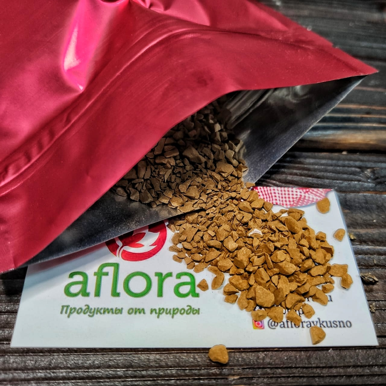 Фотография Кофе Cocam Freeze Dried сублимированный (Бразилия) / 100 гр купить в магазине Афлора