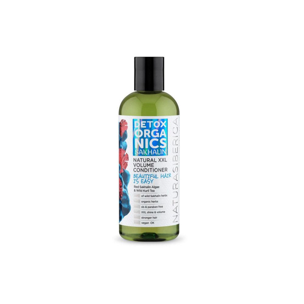 Бальзам для всех типов волос Объем и уход Detox organics Sakhalin