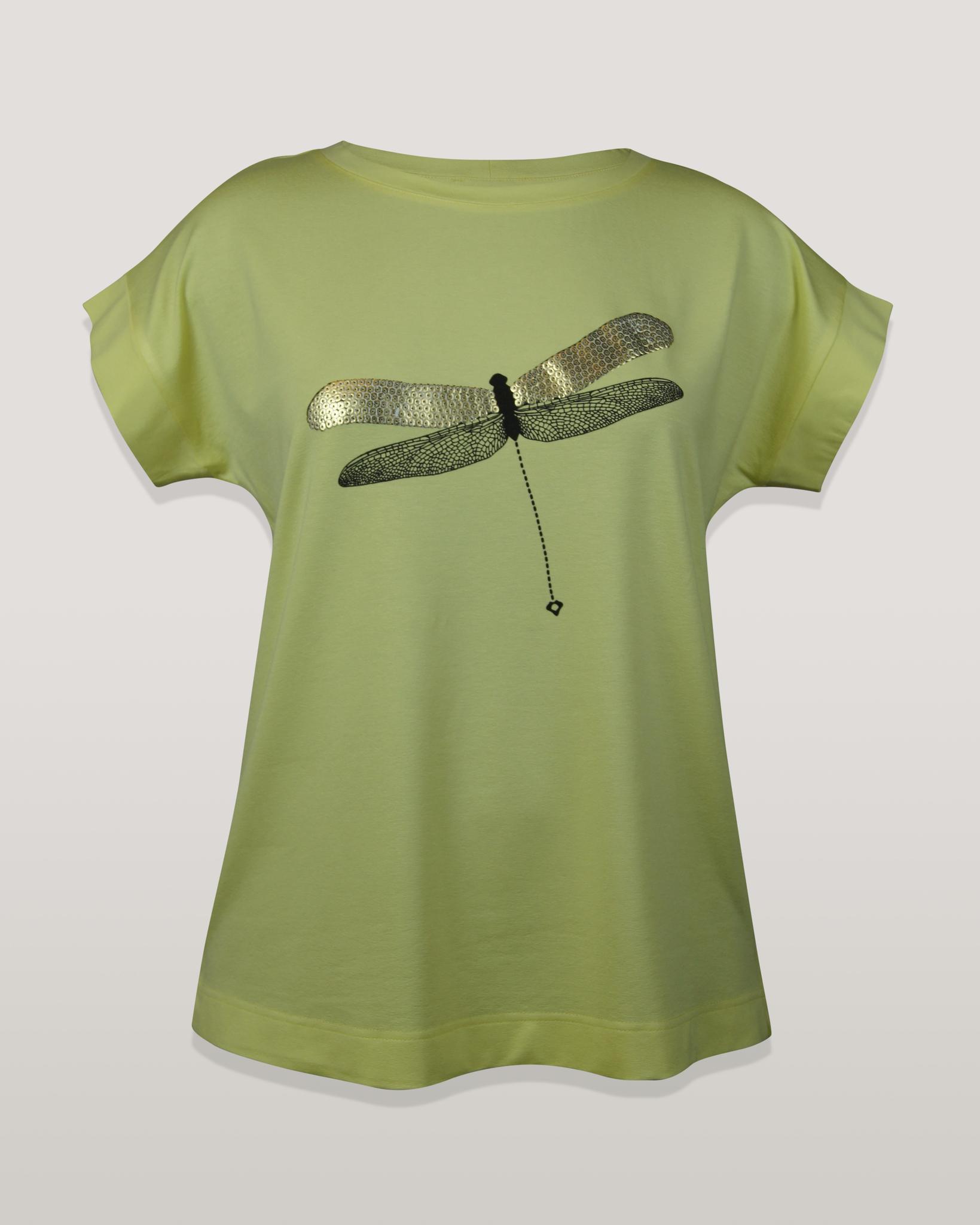 Блузка Marguerite стрекоза к/р