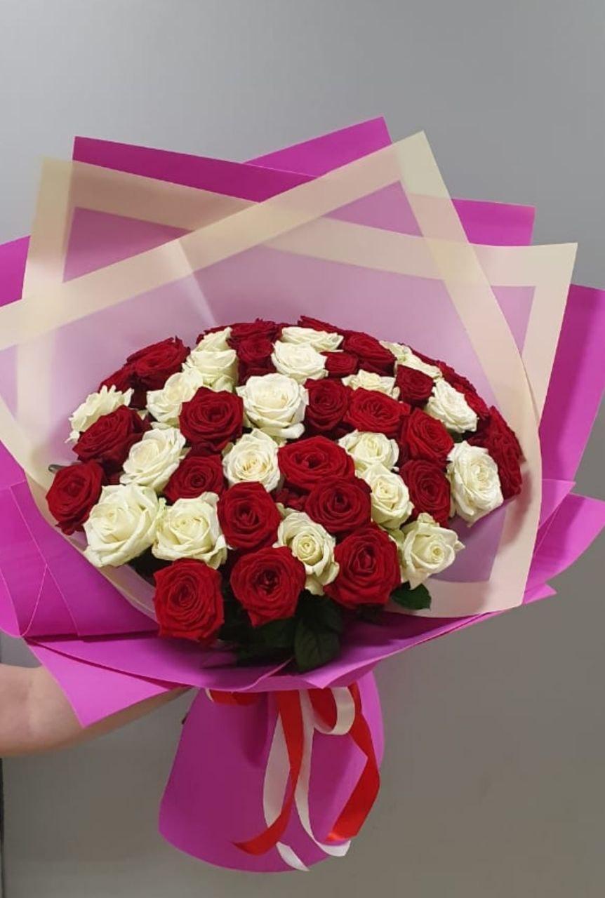 Букет 51 Роза (Б-98)