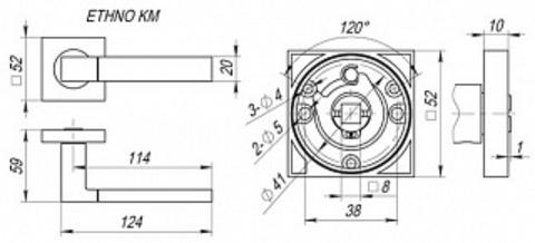 ETHNO KM SN/CP-3 Схема
