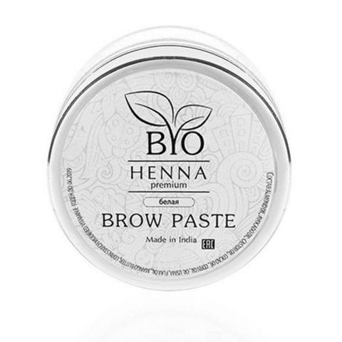 BIO HENNA Brow-паста 10гр. белая