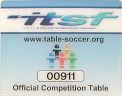 Профессиональный настольный футбол для чемпионатов, стандарта ITSF, Garlando Master Champion