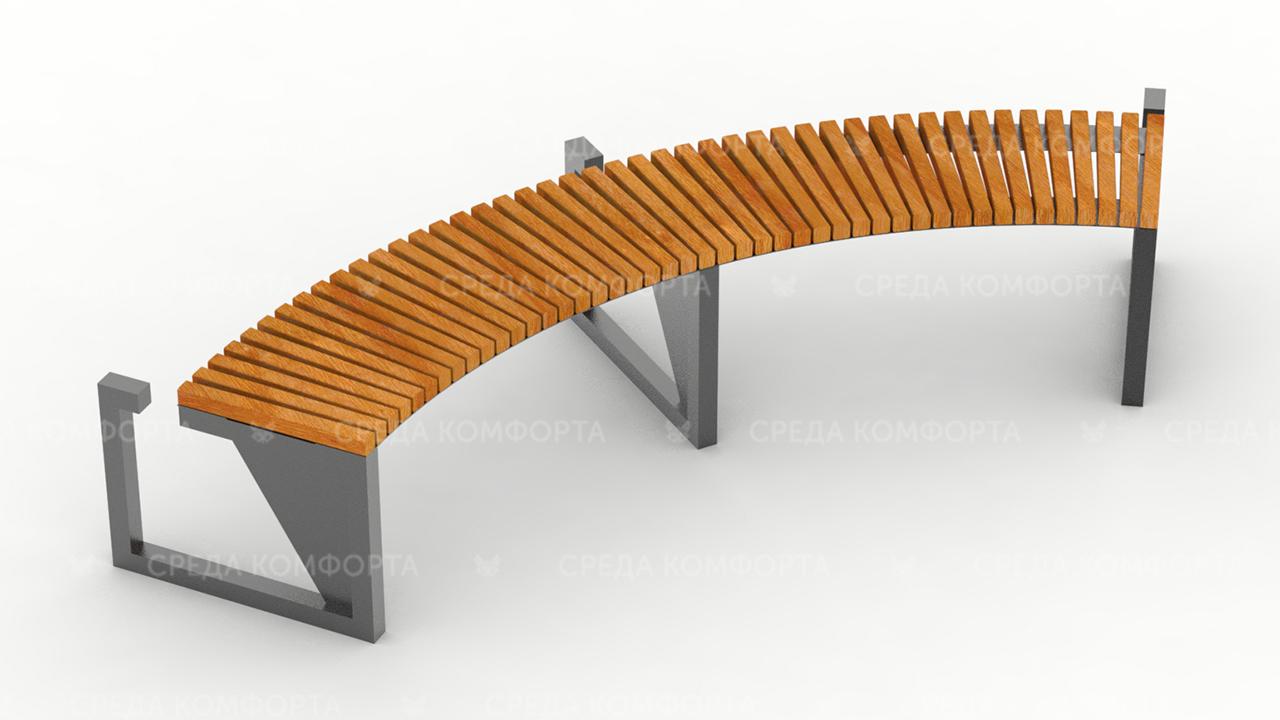 Полукруглая скамейка SCAM0046