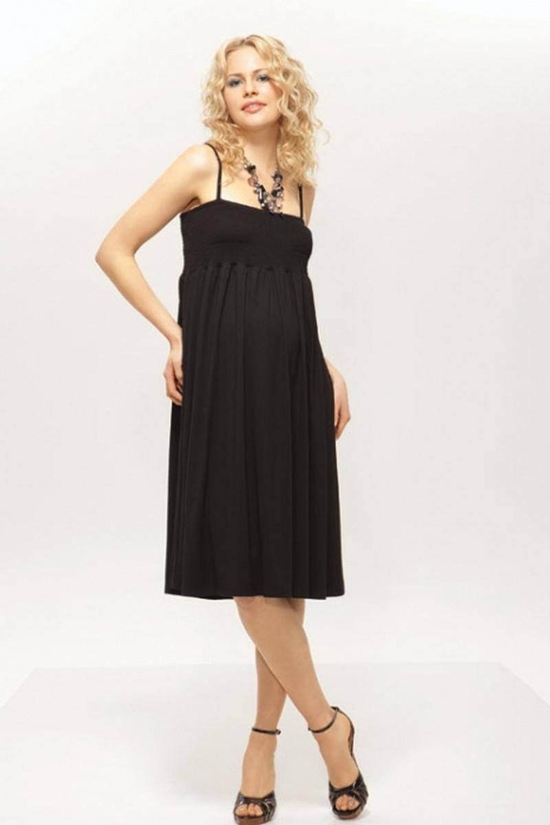 Платье для беременных 05612 черный