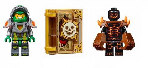 LEGO Nexo Knights: Лавинный разрушитель Молтора 70313 — Moltor's Lava Smasher — Лего Нексо Найтс Рыцари Нексо