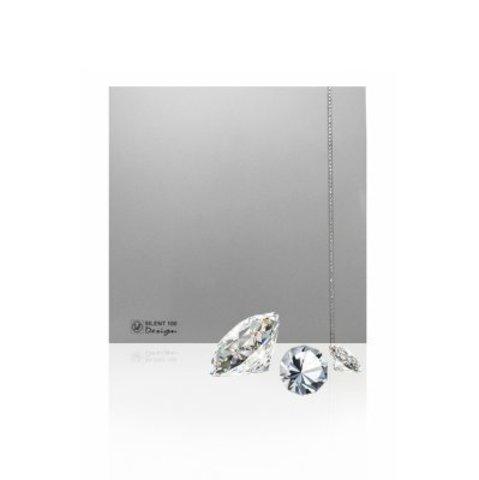 Накладной вентилятор Soler & Palau SILENT-100 CRZ DESIGN SWAROVSKI SILVER
