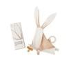 Комфортер с ушками-погремушкой, держателем для соски и прорезывателем