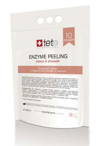 Энзимный пилинг с ферментами папайи и ананаса/Enzyme peeling/Tete