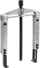 Съемник раздвижной 2-захватный с тонкими захватами, 215 мм, ЗУБР Профессионал 43313-160-215