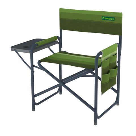 Кресло складное ZAGOROD К903 (столик, карман, Oxford 600x600)