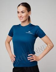 Элитная женская футболка Nordski Sport Navy