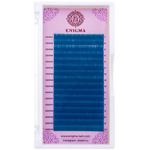 Цветные ресницы Enigma микс 0,10/D/8-13 mm
