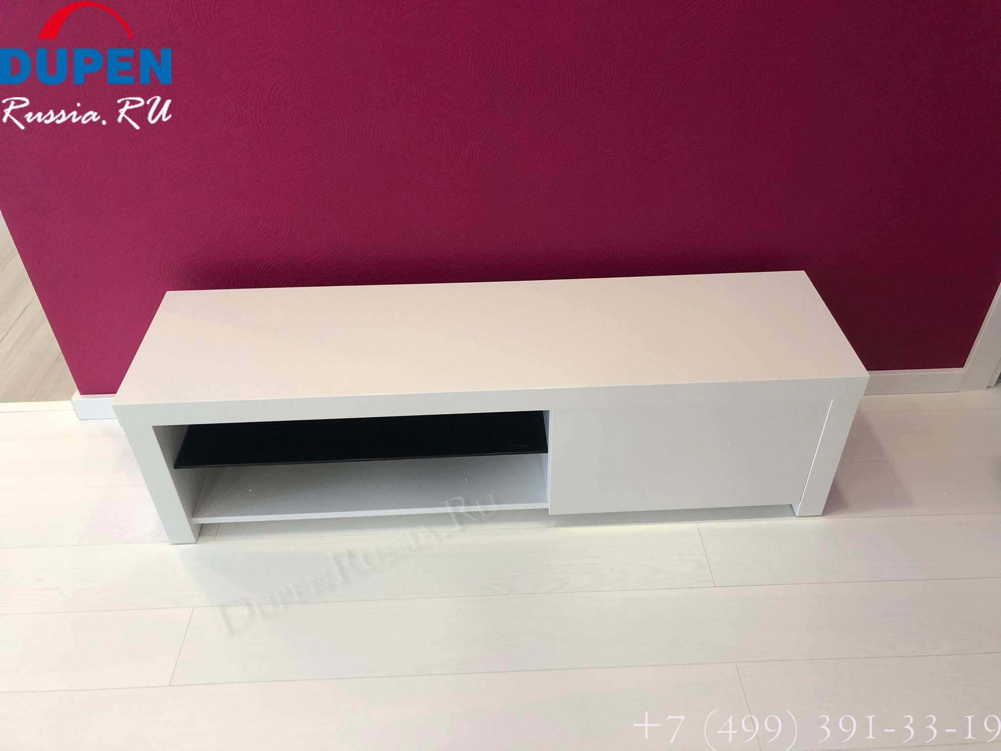 Тумба ТВ TV 603 белая