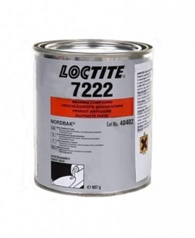 LOCTITE PC 7222 1,36KG, Эпоксидный состав с керамическим наполнителем, износостойкая шпаклёвка