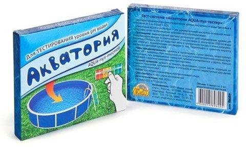 Акватория AQUA-пул-тестер для тестирования уровня pH воды